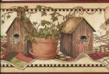 Countryside Easy Walls Border Angels & Ivy CTR65422B By Chesapeake For Brewster Fine Decor